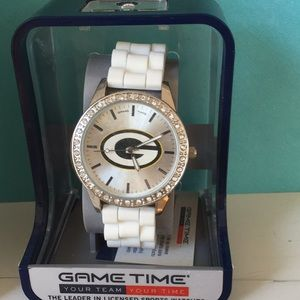 Green Bay Packers Women's Watch -White NIB